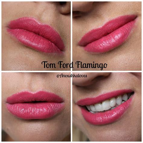 tom ford flamingo lipstick anoushka