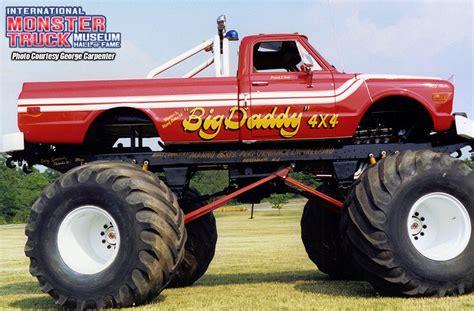 big monster trucks videos big daddy 187 international monster truck museum hall of fame