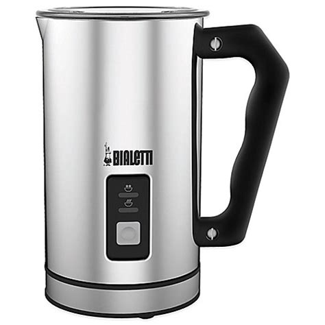 milk frother bed bath and beyond bialetti 174 electric milk frother bed bath beyond