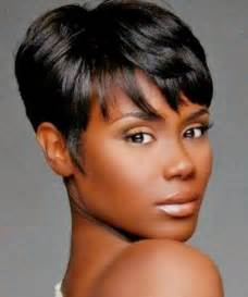 Galerry images of short hairstyles for black hair