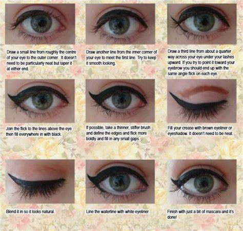 tutorial eyeliner liquid liquid eyeliner tutorial makeup tips pinterest