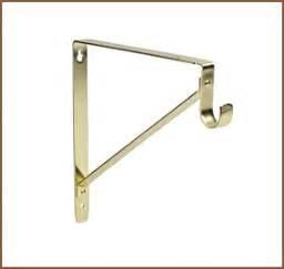 closet hardware lido 02 8150 brass shelf hanger rod
