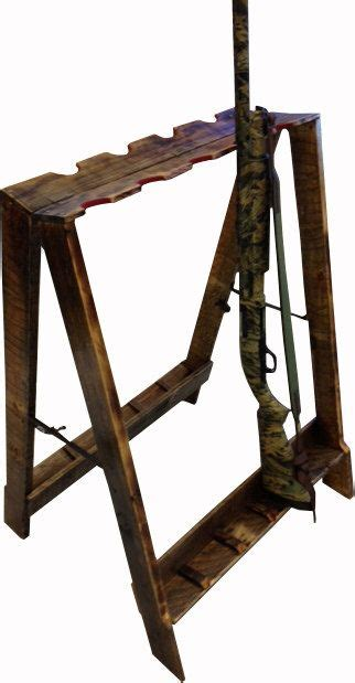 handmade portable gun rack on etsy 225 00 products i
