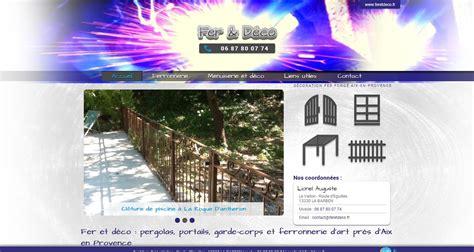 Artisan Ferronnier by Artisan Ferronnier Vers Aix En Provence Fer D 233 Co