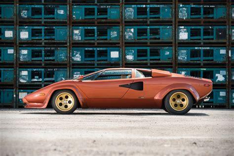 1979 Lamborghini Countach For Sale 1979 Lamborghini Countach Lp400s Series I For Sale