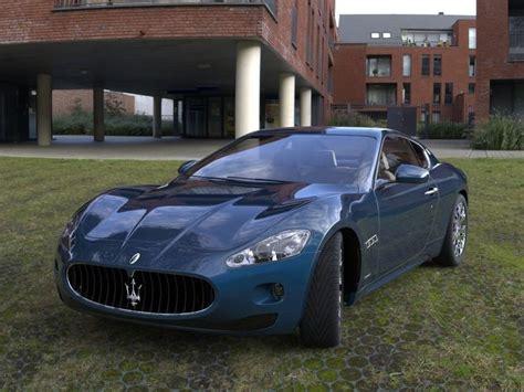 maserati car models maserati granturismo car luxury 3d model cgtrader