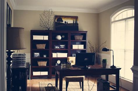 home office inspiration using inexpensive items from
