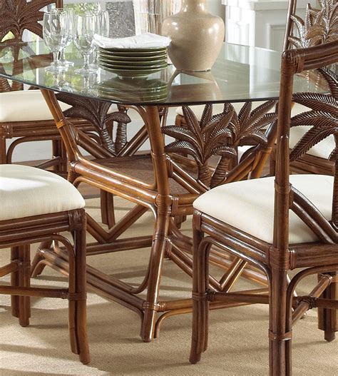 Rattan Dining Room Table And Chairs Rattan Dining Room Table And Chairs