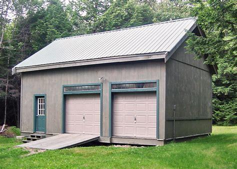 Garage Kits With Loft 2 Car Garage Kits Two Car Garage Plans