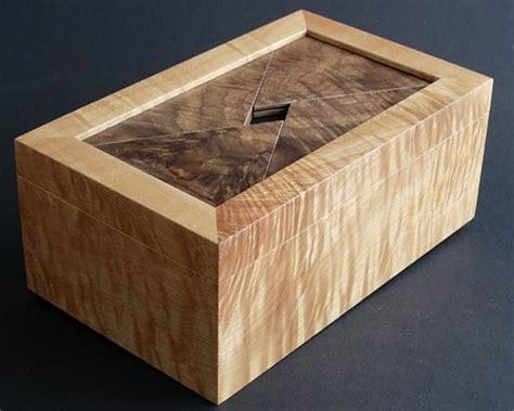 secret box secret locking box wood projects plans