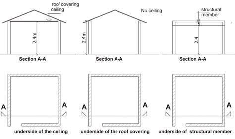 standard ceiling height ceiling height building regulations www gradschoolfairs