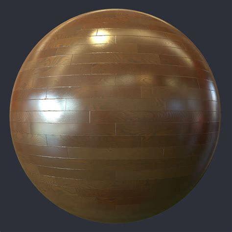 shiny wood parquet floor