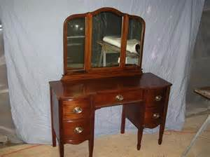 antique vanity ornate depression era furniture triple mirror depression era furniture photos