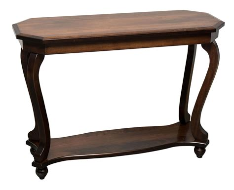 amish sofa table lormel sofa table from dutchcrafters amish furniture