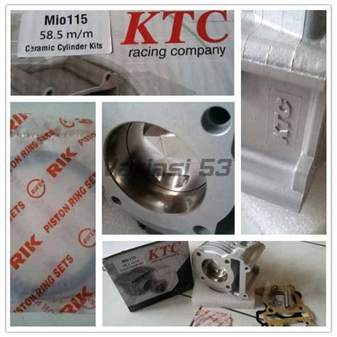 Piston 53 5mm Pen13 Cld bore up kit ktc yamaha mio 58 5 mm ceramic tabloid ototrend