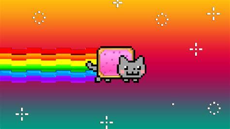 Moving Wallpaper Nyan Cat   nyan cat by iammrx on deviantart