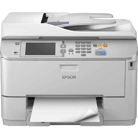 Printer Epson Plus Fotocopy epson workforce pro wf m5690dwf a4 mono multifunction inkjet printer c11ce37401by