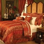red and gold bedroom master bedroom decor