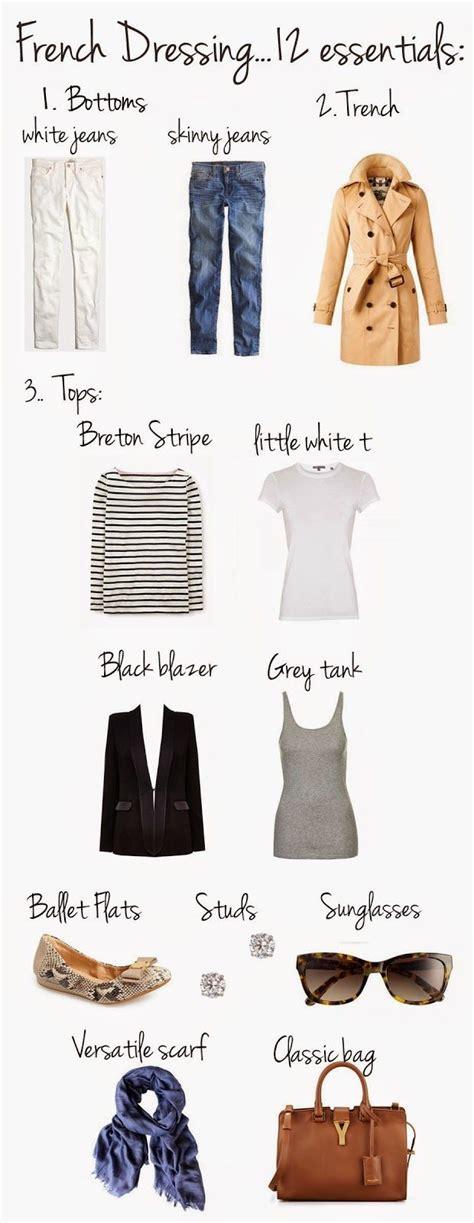 Parisian Chic Wardrobe Essentials by Best 25 Fashion Ideas On