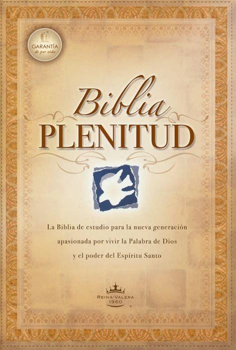 leer libro biblia plenitud spirit filled life bibles gratis descargar rvr 1960 spanish spirit filled study bible rvr60 biblia plenitud paperback case of 20