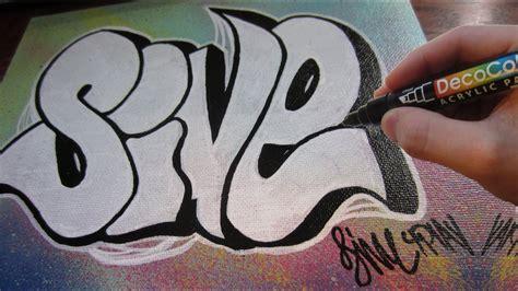 graffiti throw  canvas youtube