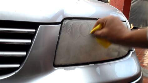 pulir faros tutorial como pulir faros de auto profesionalmente en