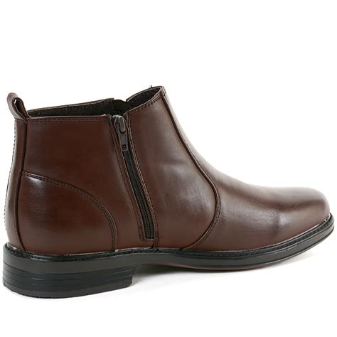 mens chelsea boots with side zip alpine swiss eli mens dressy ankle boots chelsea side zip