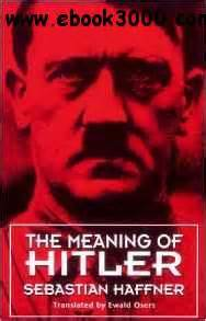 hitler biography ebook download the meaning of hitler free ebooks download
