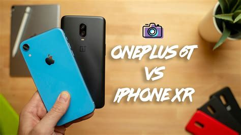 oneplus   iphone xr camera comparison youtube