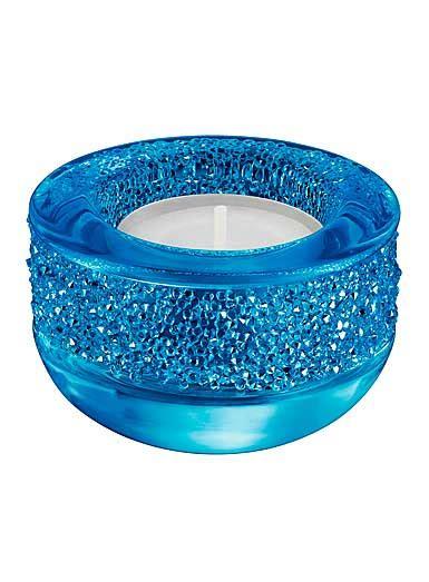 swarovski shimmer tea light swarovski shimmer tea light blue