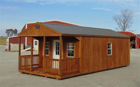 gable cabin sunrise structures