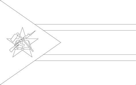 Free England Flag Outline Coloring Pages World Flags Coloring Pages