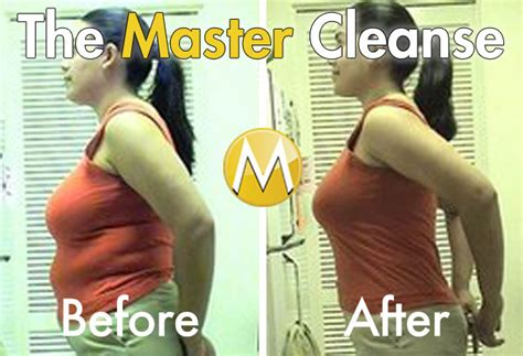Detox Diet Before And After by Master Cleanse Before And After