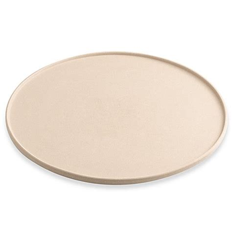 bed bath and beyond pizza stone hartstone pottery 15 inch round pizza baking stone bed