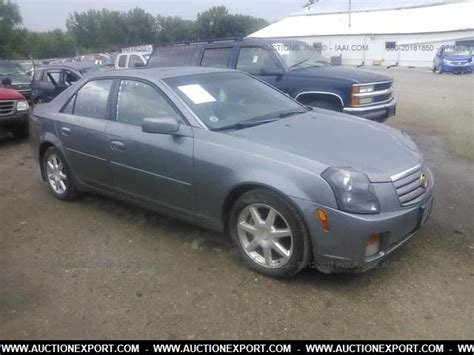Used 2004 Cadillac Cts by Used 2004 Cadillac Cts Sedan Car For Sale At Auctionexport