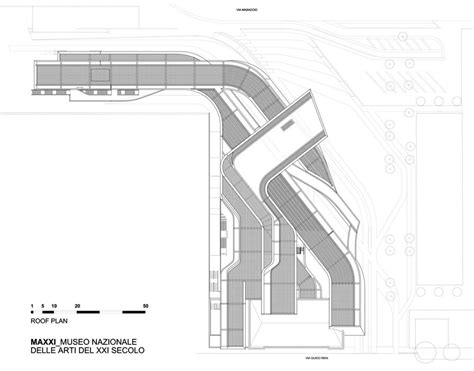 Zaha Hadid Floor Plans by Zaha Hadid The Maxxi Museum Rome Part 1