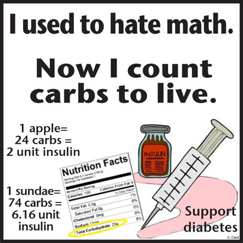 carbohydrates for diabetics diabetes counting carbs for betic