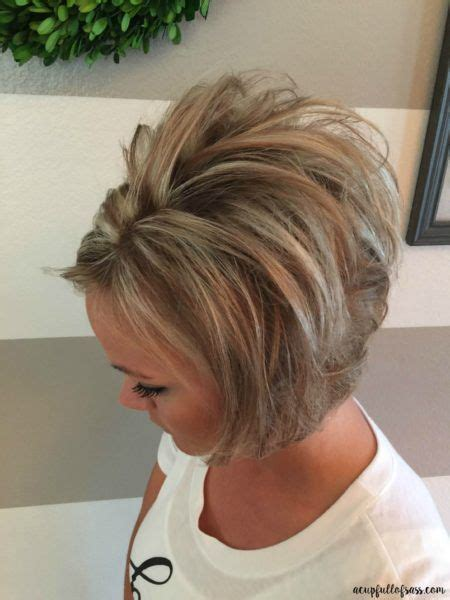 stacked bob haircut teased 1000 ideas about teased short hair on pinterest messy