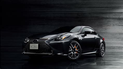 lexus rc f sport 2017 2017 lexus rc 350 f sport prime black wallpaper hd car