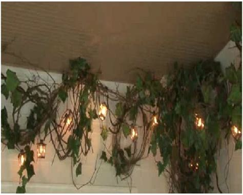 how to install grapevine garland