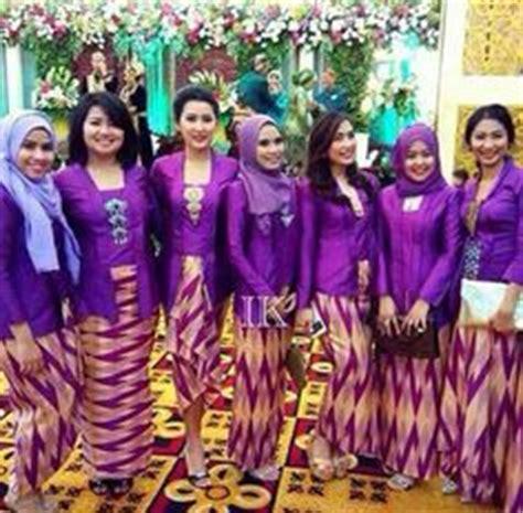 Bustier Muskim Ungu 1000 images about seragam pernikahan on kebaya app and bridesmaid
