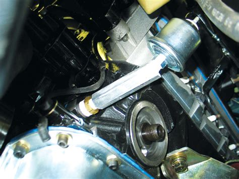 engine    threaded oil holes mustang forums  stangnet