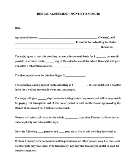paperwork needed to sell a house without a realtor sle house agreement form 8 free documents in pdf doc