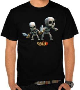 Kaos Casual 495 Ps149 jual kaos clash of clans skeleton clash of clans satubaju