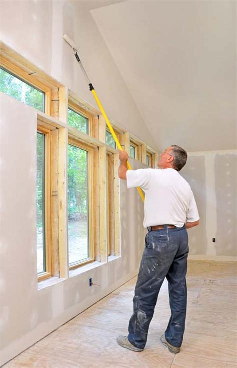 How To Paint Drywall Ceiling by How To Paint Walls Ceilings