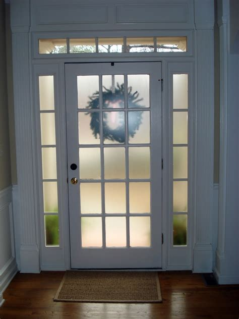 Frosted Front Door Frosted Glass Spray E G Krylon Or Rustoleum For Front Doors And Shed Windows Beautiful Home