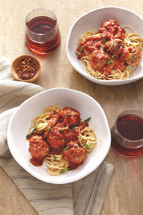 red wine with spaghetti and meatballs spaghetti and meatballs with red wine recipe myrecipes