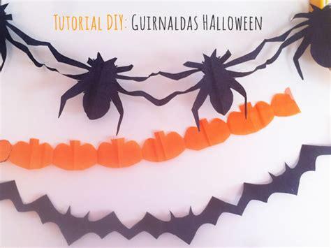 como hacer cadenas de papel china para halloween c 243 mo hacer guirnalda encadenada para halloween manualidades