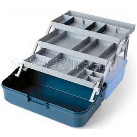 cassette per la pesca cassetta valigetta pesca 3 piani media pesca sub