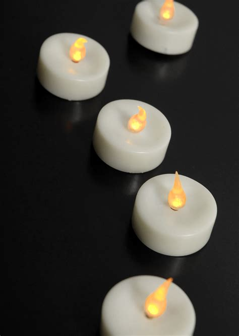battery tea light candles battery operated tea light candles led 48 candles